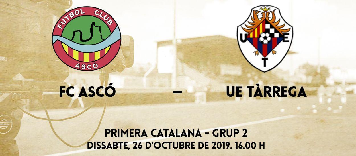El partit entre el FC Ascó i la UE Tàrrega, en streaming