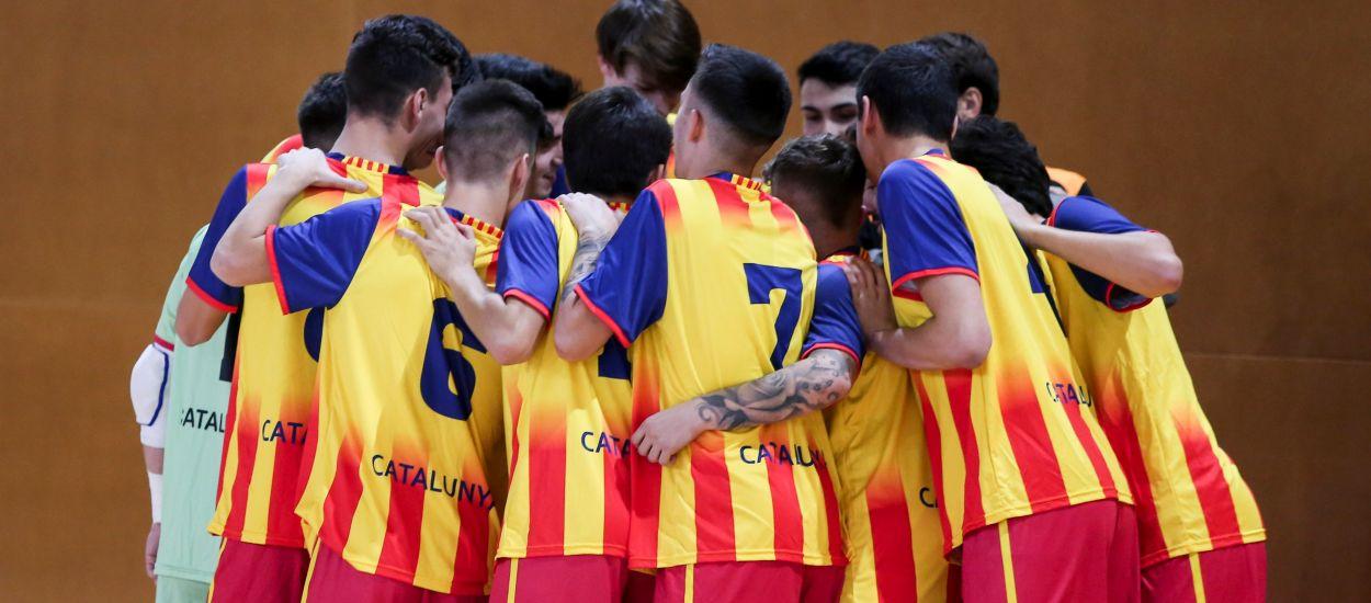 El FS Manresa empata a l'últim sospir davant la Selecció Catalana sub 19 de futbol sala