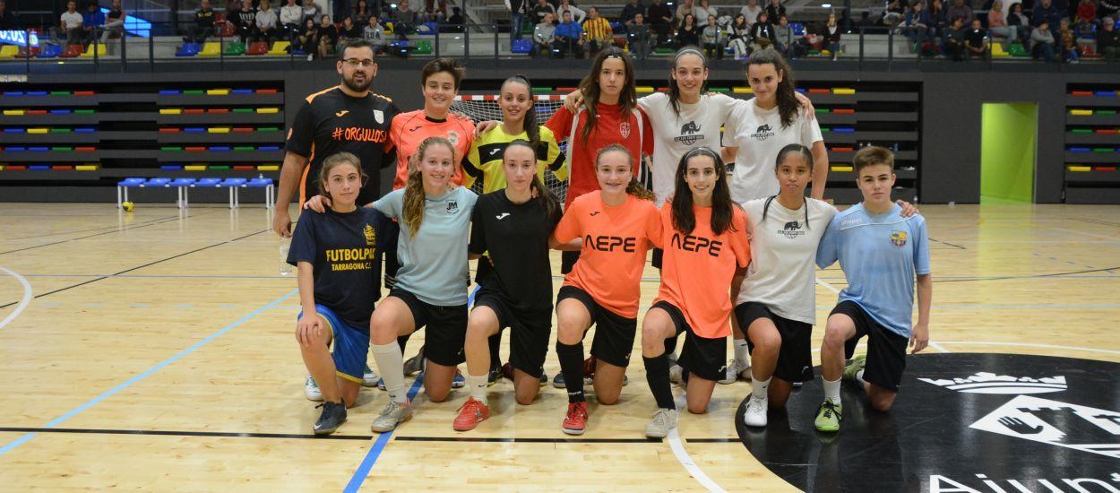 Qualitat i exigència per a la Selecció Catalana sub 16 femenina de futbol sala