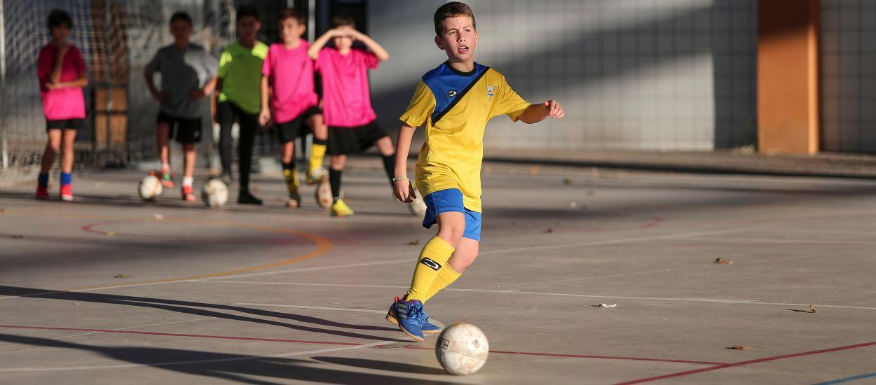 Primers entrenaments de les Seleccions Comarcals de Futbol Sala