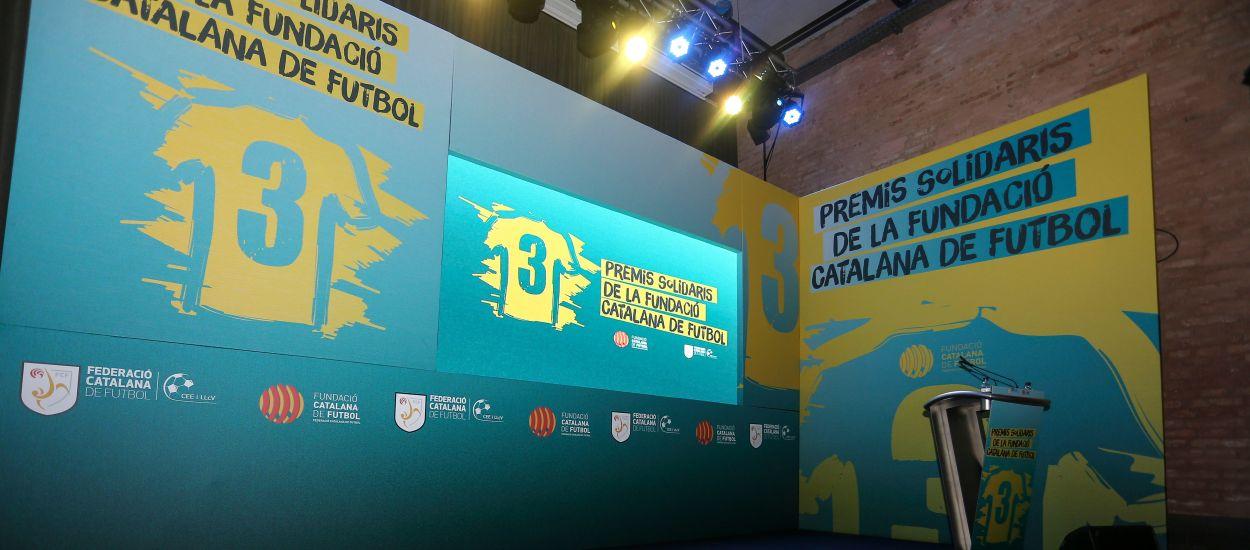 Obertura de candidatures per als IV Premis Solidaris de la Fundació Catalana de Futbol