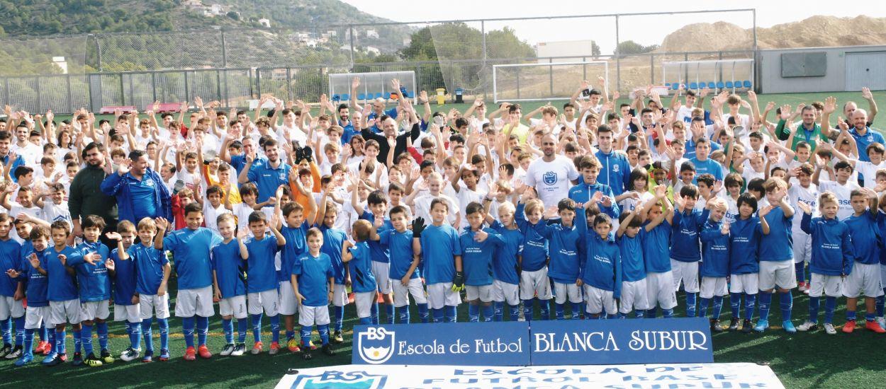 El CF Blanca Subur presenta els seus equips