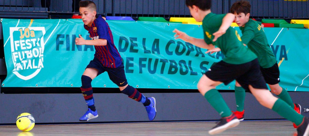 Preparats els quadrants de la Copa Catalunya de Futbol Sala per iniciar la competició