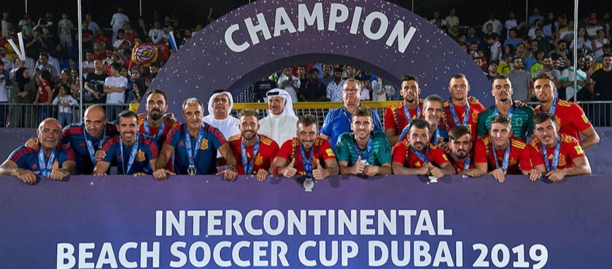 Quatre catalans, subcampions de l'Intercontinental Cup de Dubai
