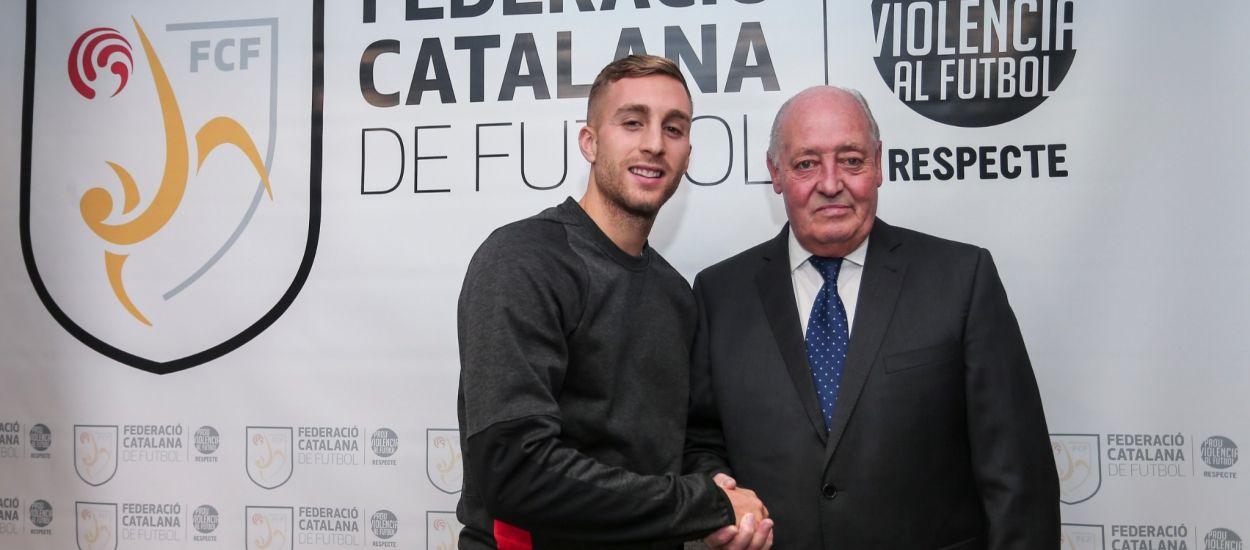 Gerard Deulofeu visita l'FCF