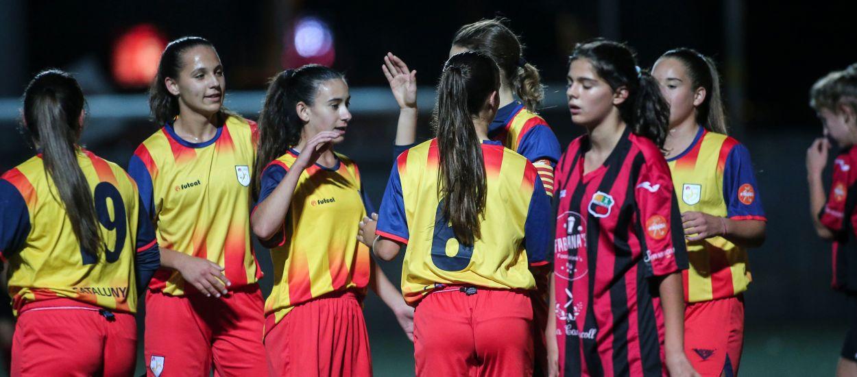Cuatro catalanas convocadas con la Selección Española sub 16 femenina