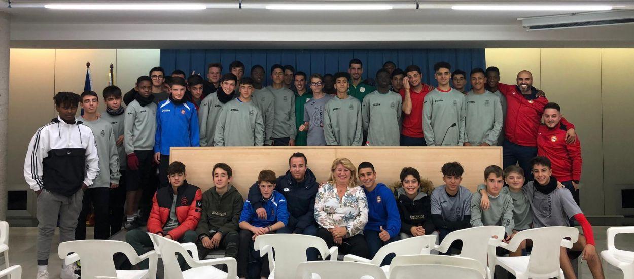 Xerrada arbitral als juvenils i cadets del CD Masnou
