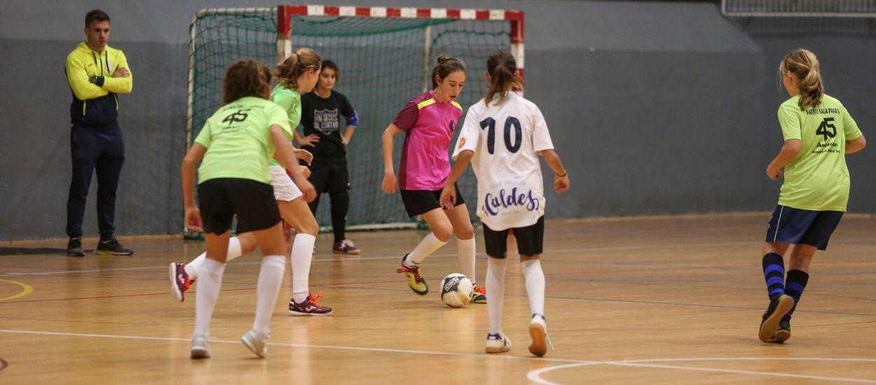 Les Seleccions Comarcals de futbol sala disputen els partits amistosos abans de la llista definitiva