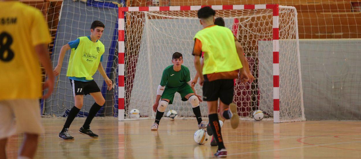 Les Seleccions Comarcals de futbol sala realitzen l'últim entrenament abans dels Campionats Comarcals