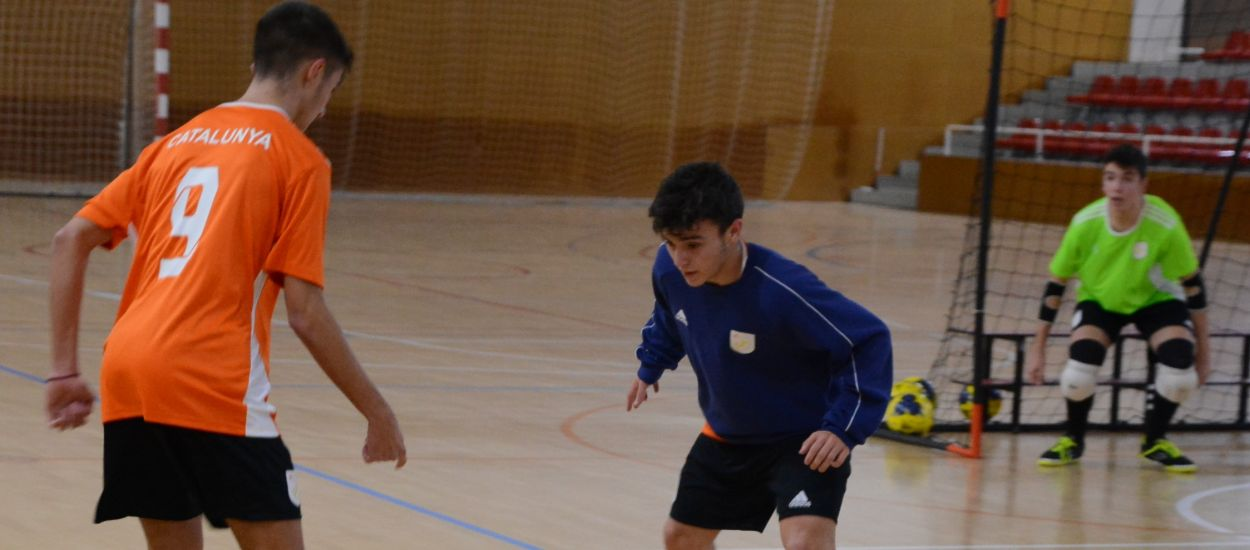 La Selección Catalana sub 16 de fútbol sala continúa con la preparación para los Campeonatos de España