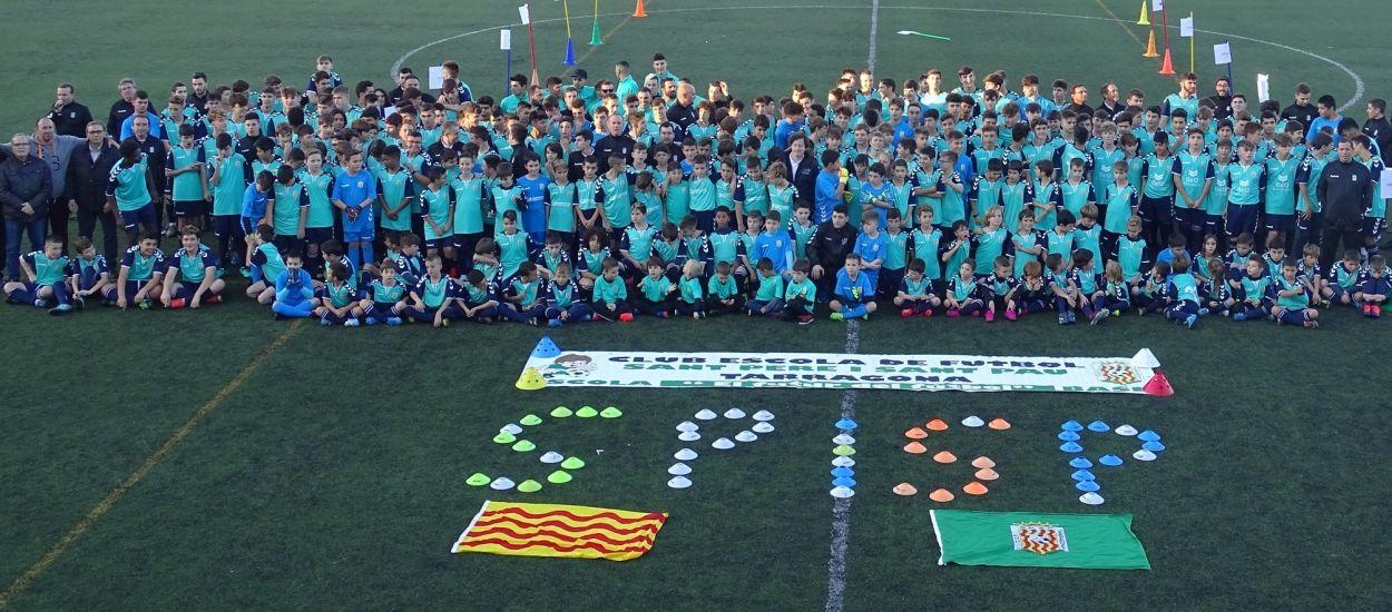Presentació de l'Escola de Futbol Sant Pere i Sant Pau