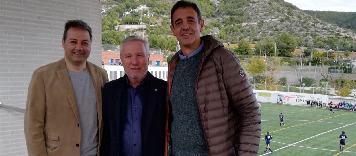 Assistència federativa al partit entre el Sitges UE i l'Atlètic Junior FC
