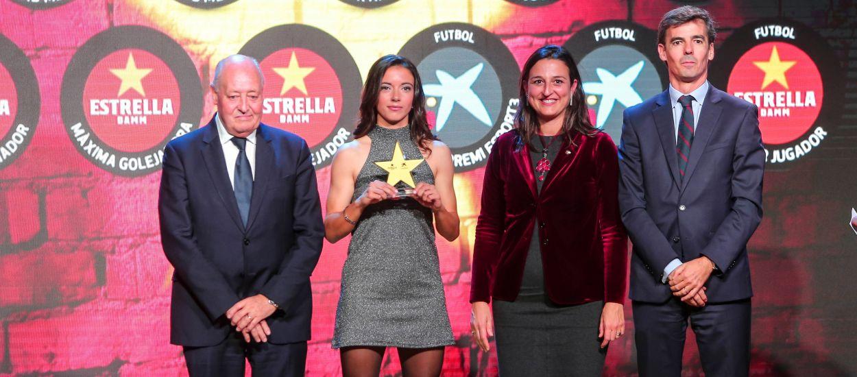 La nova estrella del futbol femení català