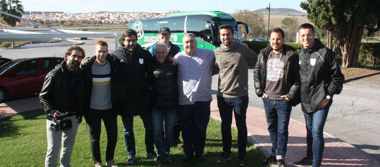 Els mitjans catalans, amb la CatUEFA a Extremadura