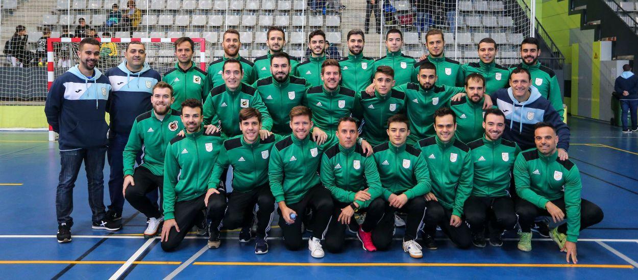 Els partits de la fase final dels Campionats Comarcals de futbol sala xiulats amb parella arbitral