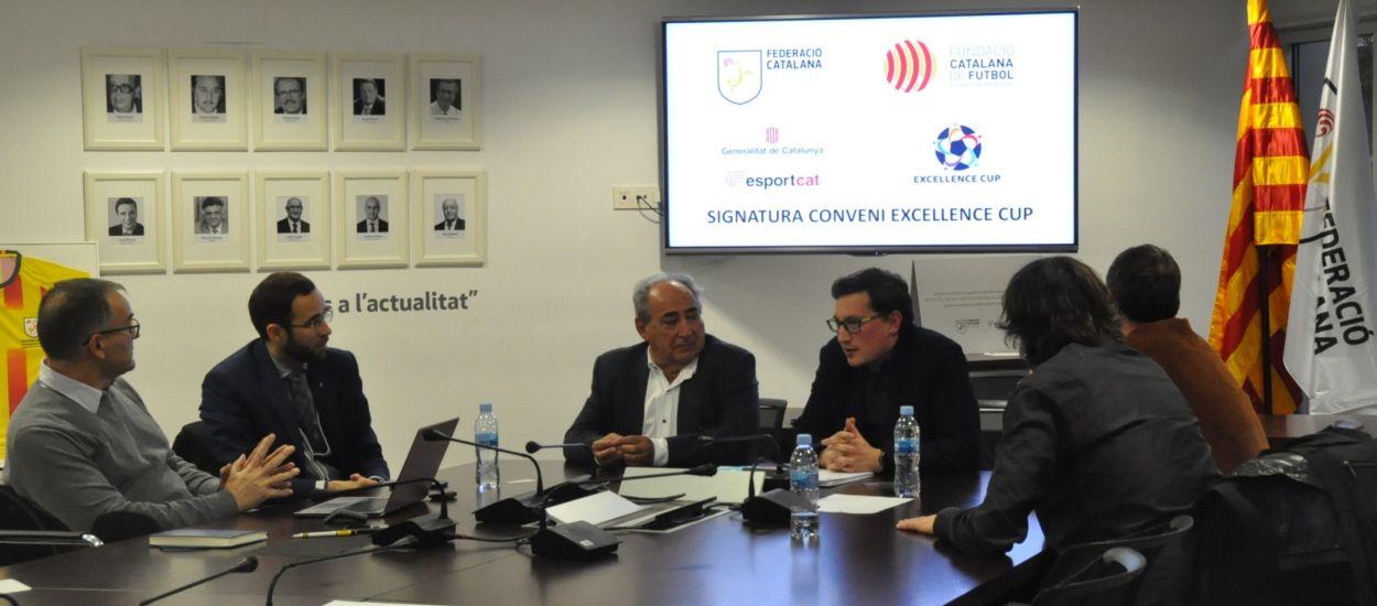 L'FCF, la seva Fundació i l'Excellence Cup signen un conveni