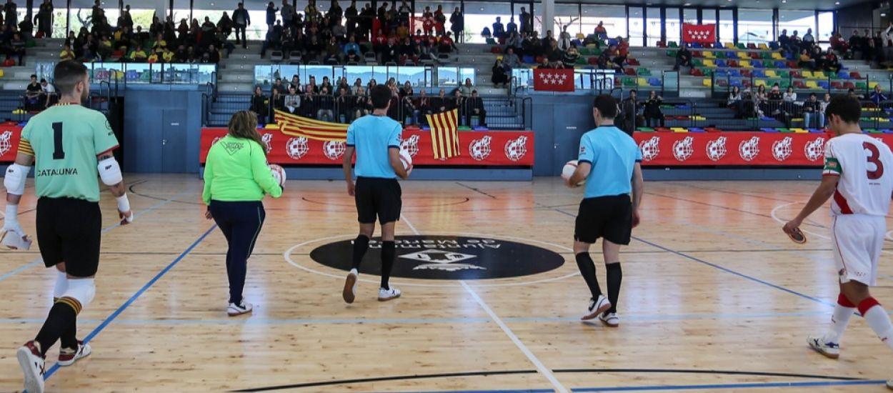 Àrbitres de Nacional dirigiran la fase prèvia del Campionat d'Espanya sub 19 i sub 16 femení de futbol sala
