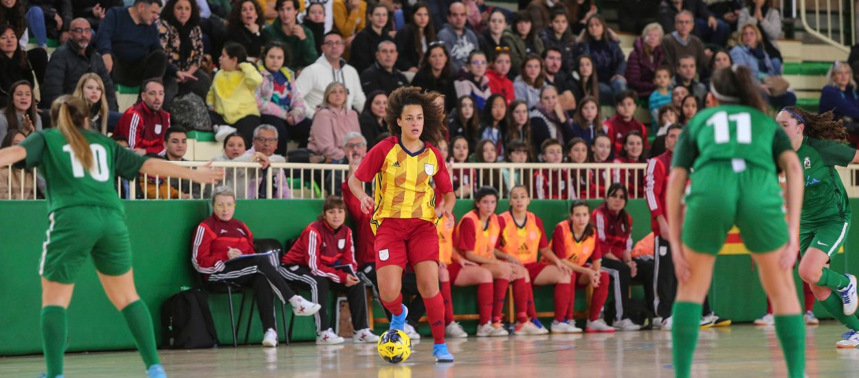 Catalunya sub 19 femenina de futbol sala perd en el seu debut al Campionat d'Espanya