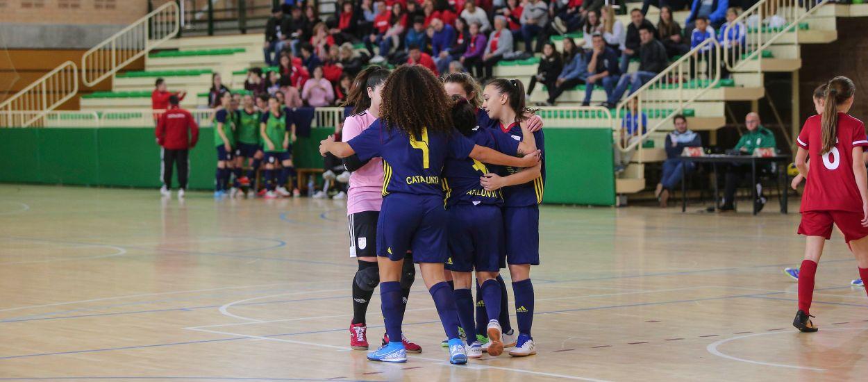 Catalunya sub 19 femenina de futbol sala cau eliminada amb el cap ben alt