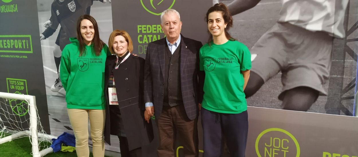 El vicepresident primer de l'FCF, Josep Llaó, visita la Ciutat dels Somnis