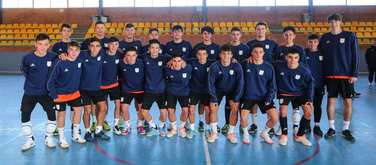 Catalunya sub 16 i sub 19 de futbol sala es concentren a les Jornades de Convivència per a les fases prèvies de Cuenca