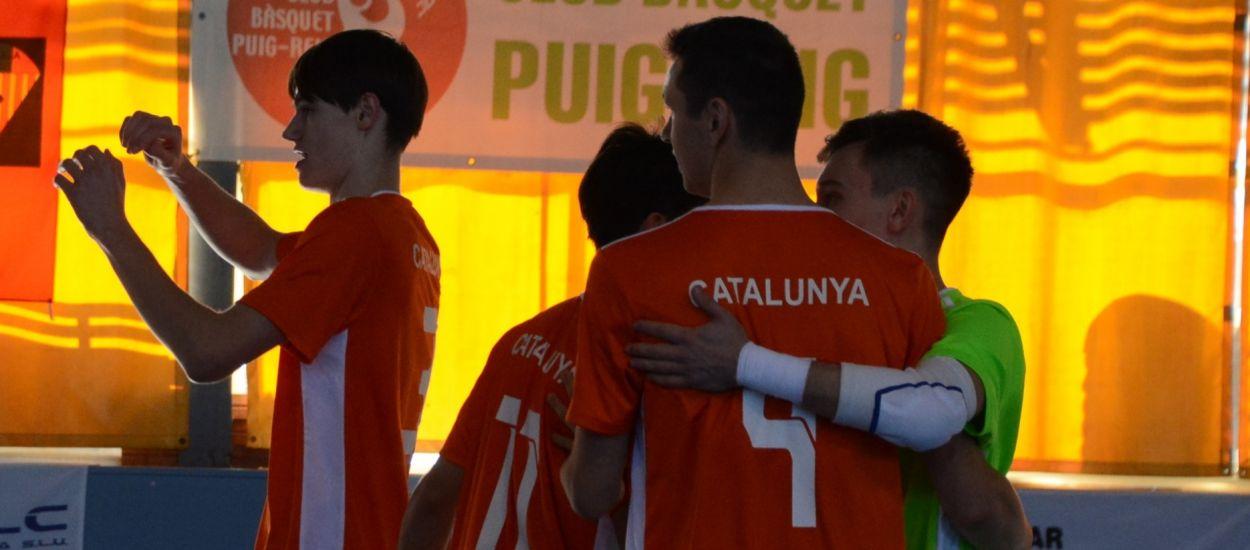 Victòria molt treballada de Catalunya sub 19 abans de les fases prèvies davant el Lamsauto Futsal Lleida