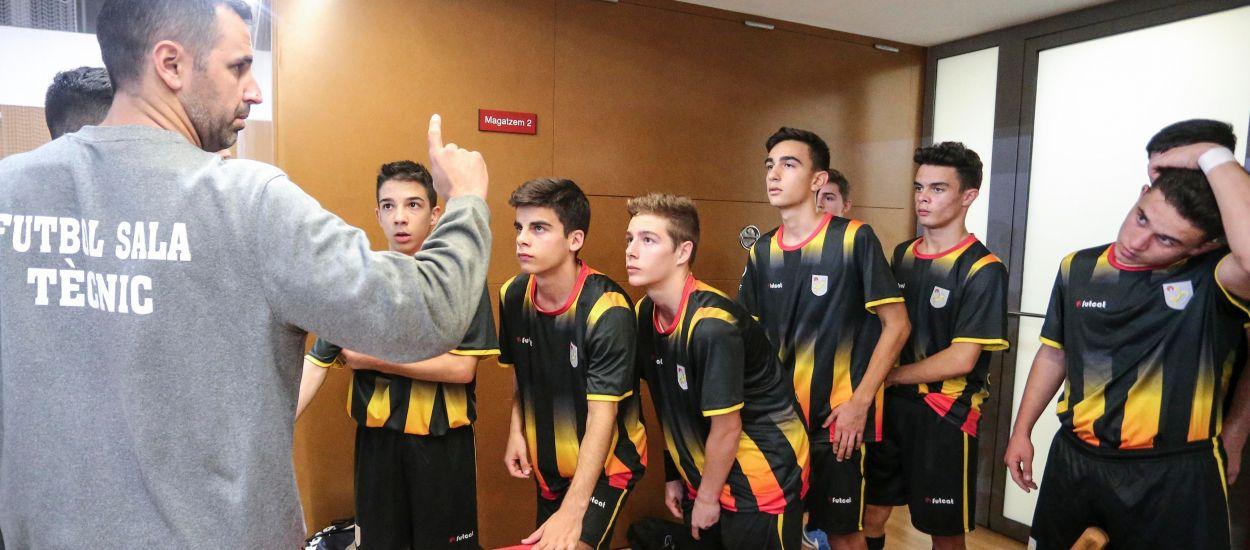 Inici de l'any amb la fase prèvia del Campionat sub 19 i sub 16 de futbol sala