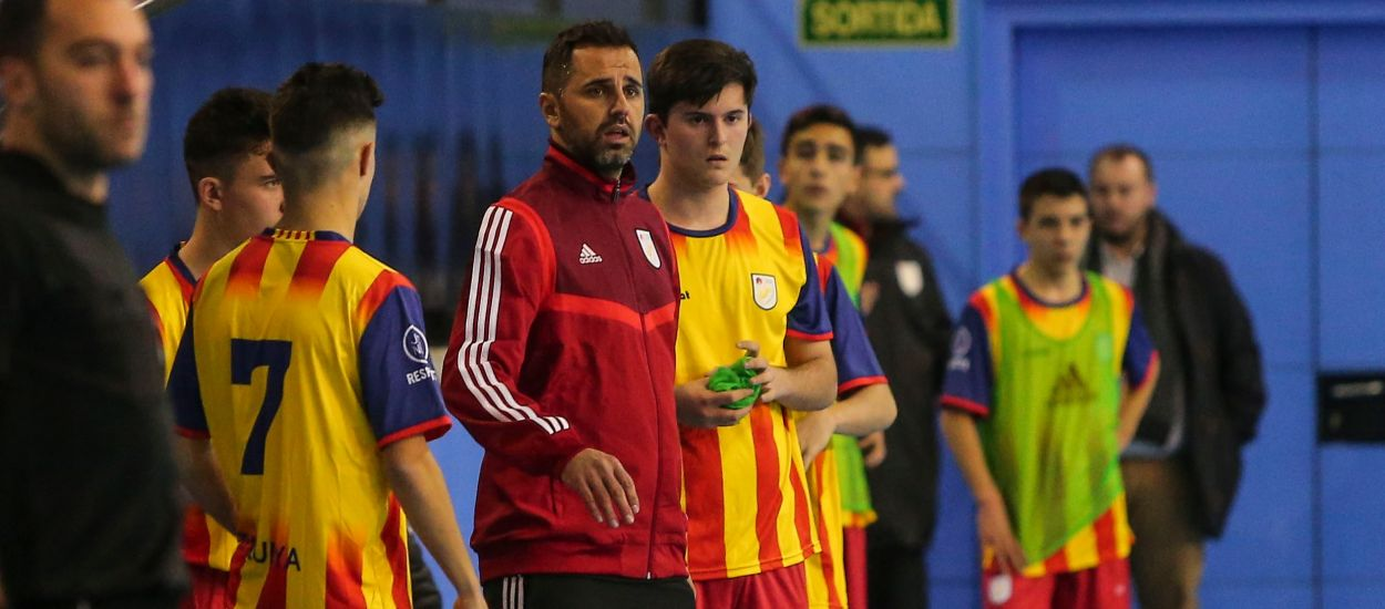 Rubén González: ''El nivell i la salut del futbol sala català és molt bo i per això, sempre hem de sortir a guanyar''