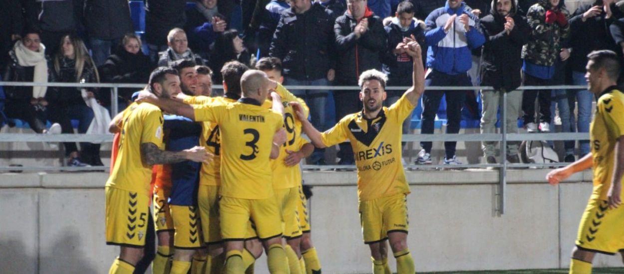 Cara para el Badalona y el Girona, cruz para el Nàstic en la Copa del Rey