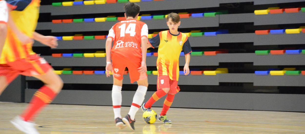 Catalunya Infantil empata davant el CFS Manresa en un debut molt exigent