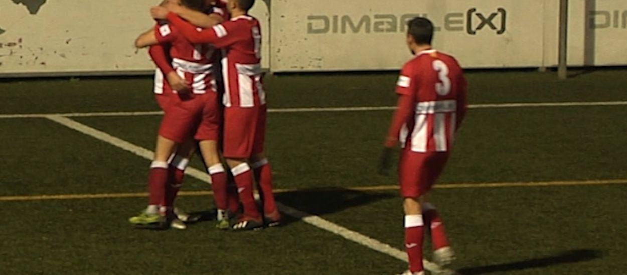 Resum i gols de la jornada 16 de Primera Catalana (Grup 1 i 2)