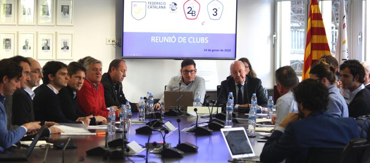 Reunions informatives del programa 'Impuls 23' amb els clubs de Segona 'B' i Tercera