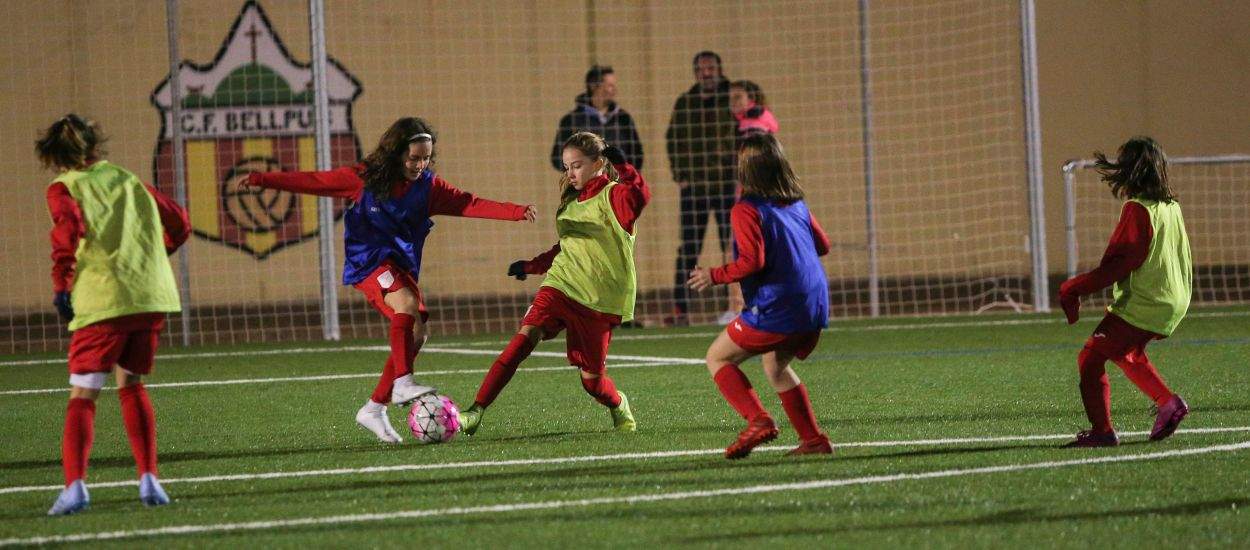 Bellpuig acoge el segundo entrenamiento de la Selección Catalana sub 12 femenina