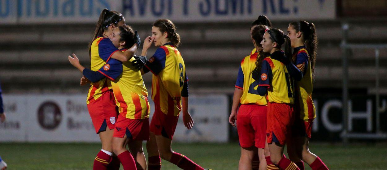 Cinc catalanes convocades amb la Selecció Espanyola sub 16 femenina