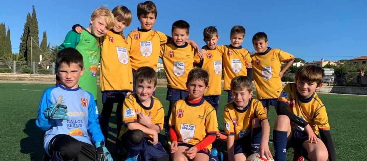 El FC L'Escala difon les campanyes de l'FCF a la seva segona samarreta