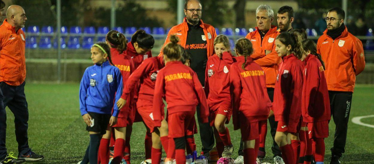 Celebrado el entrenamiento territorial de la Sub 12 Femenina en Tarragona