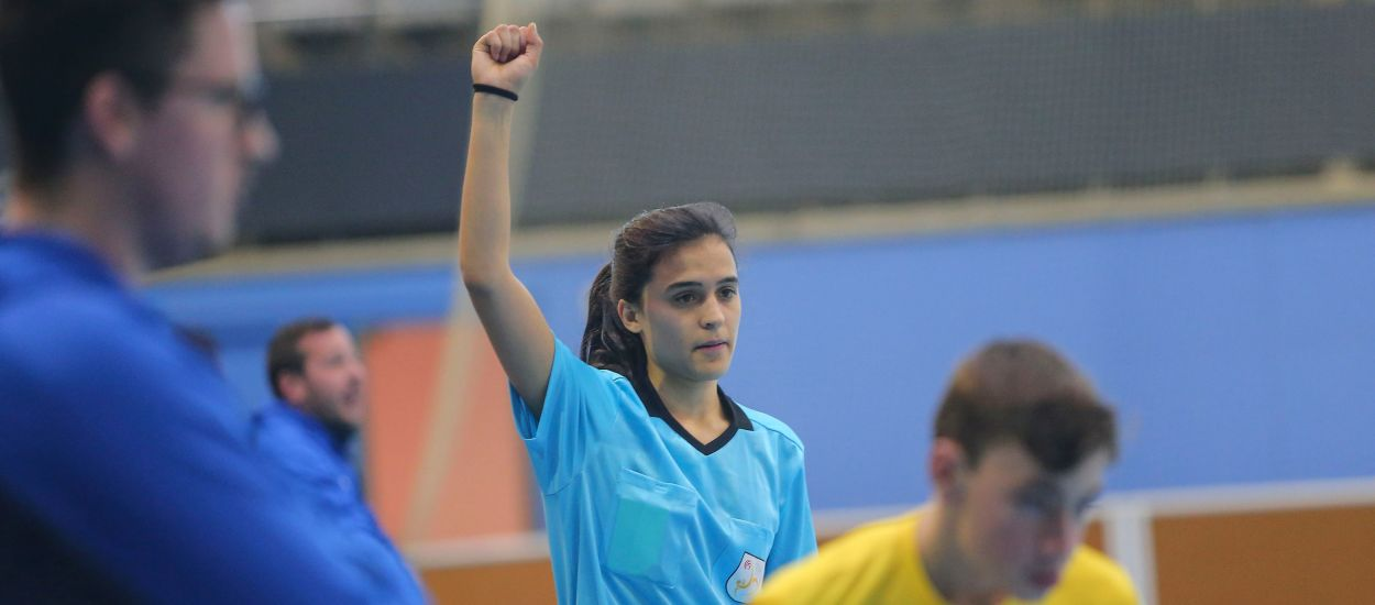 Els àrbitres de la 8a promoció de futbol sala que xiularan la Fase Final de Prebenjamins i Aleví femení de futbol sala