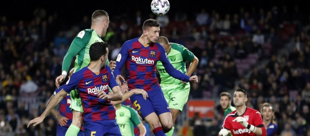 El Barça, a quarts de Copa