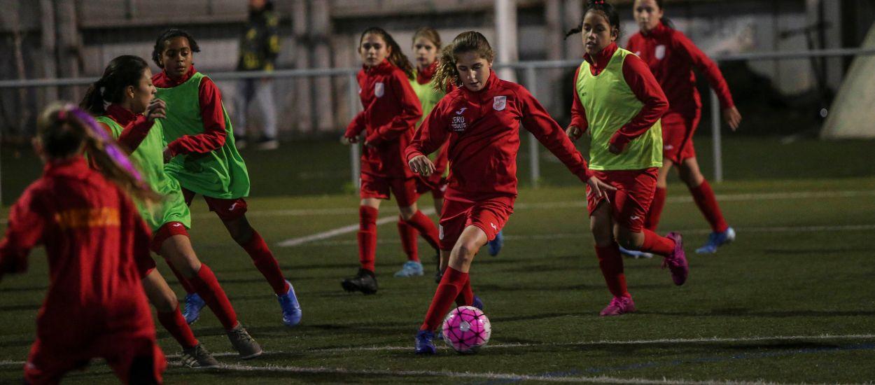 El Barcelonès acoge el entrenament de la territorial de la Sub 12 Femenina
