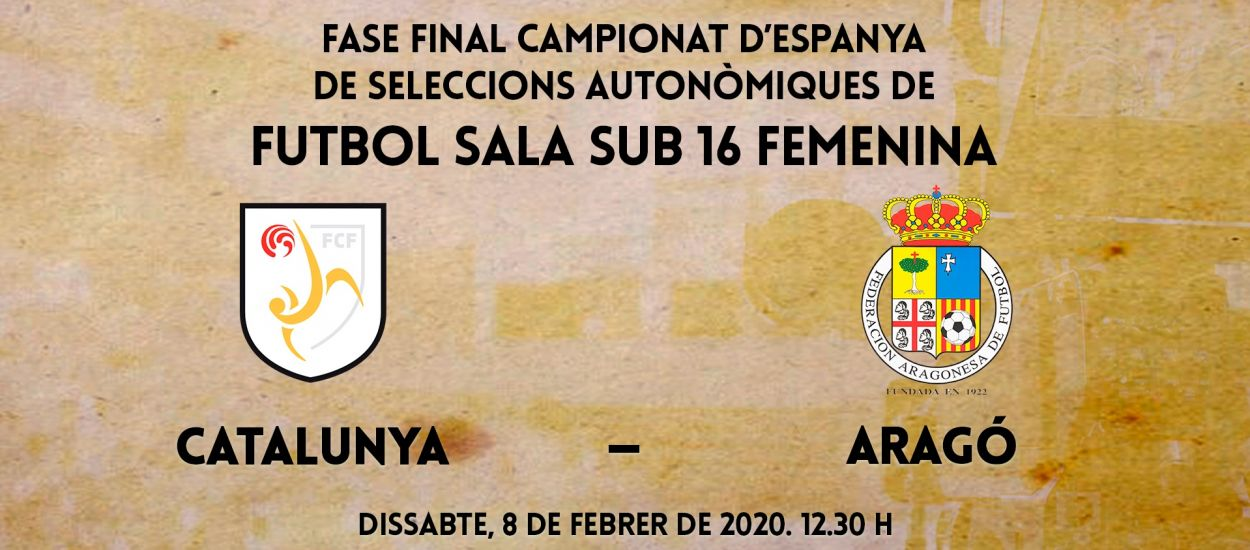 La Fase Final dels Campionats d'Espanya de futbol sala en directe