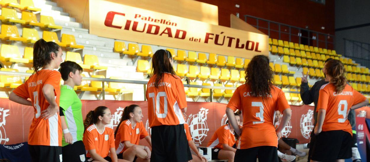Catalunya sub 16 femenina de futbol sala, preparada per a regnar el Campionat d'Espanya