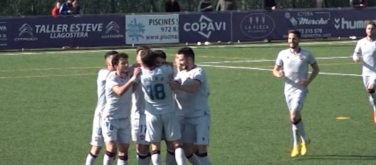Resum i gols de la jornada 24 de la Segona Divisió 'B' (Grup 3)
