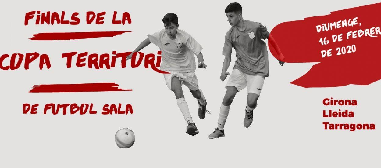 Arriben les Finals de Copa Territori a Girona, a Lleida i a Tarragona