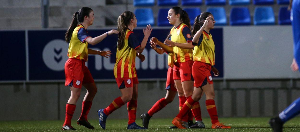 Sis catalanes convocades amb la Selecció Espanyola sub 19 femenina