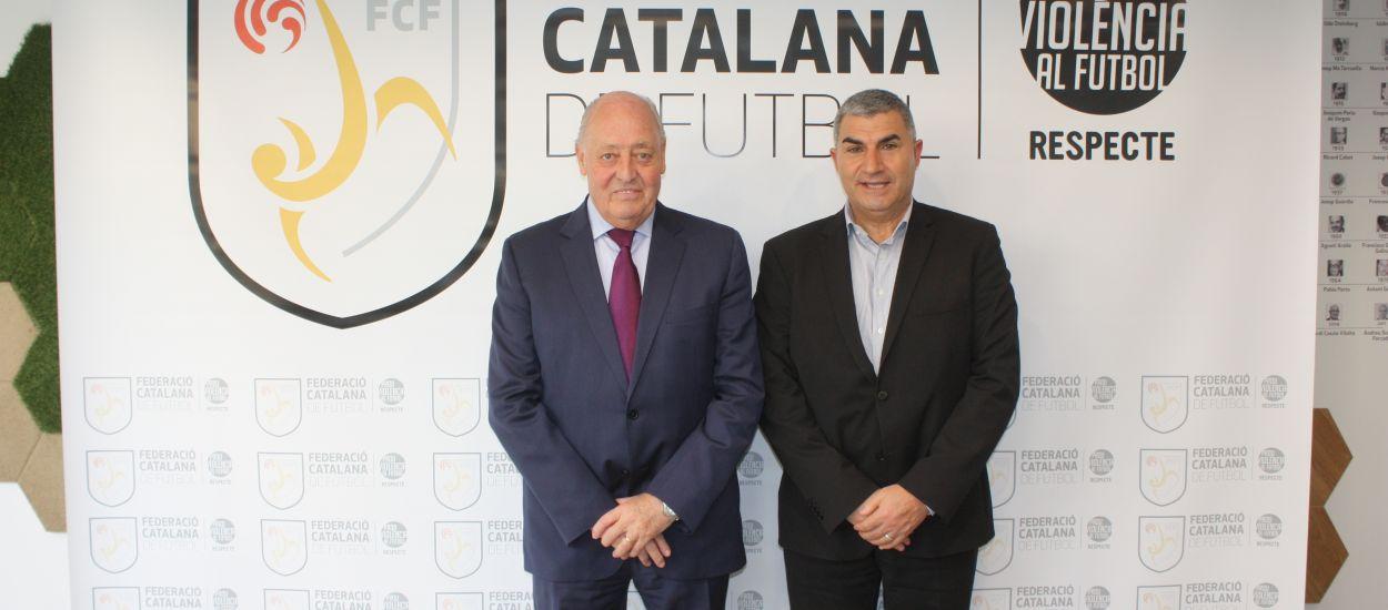 Visita institucional de la Federació Andorrana de Futbol a l'FCF