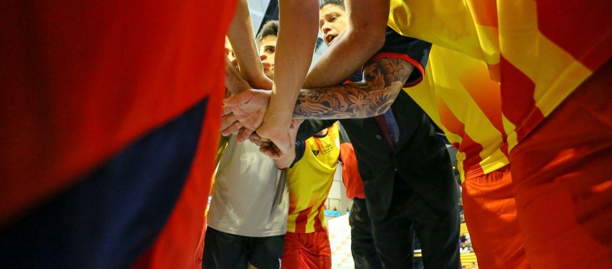 Del golf Pèrsic a terres catalanes per disputar el Catalunya-Bahrain de futbol sala
