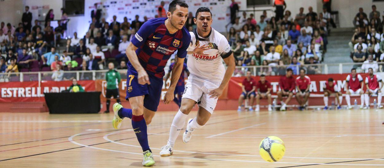 El Barça y el Industrias Santa Coloma, clasificados para la Final Four de la Copa del Rey de fútbol sala
