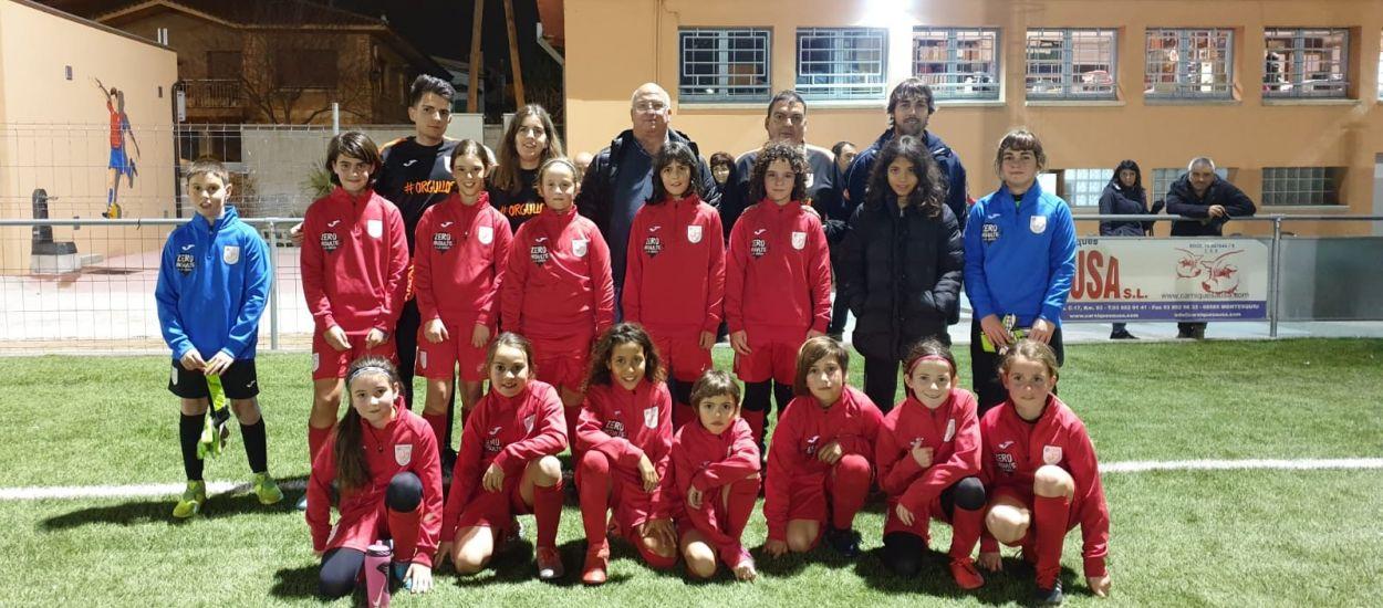 Les seleccions territorials femenines d'Osona es posen en marxa