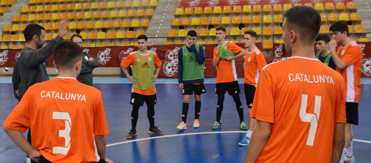 Catalunya sub 16 de futbol sala arriba a Madrid amb l'ambició i la il·lusió de competir pel Campionat d'Espanya