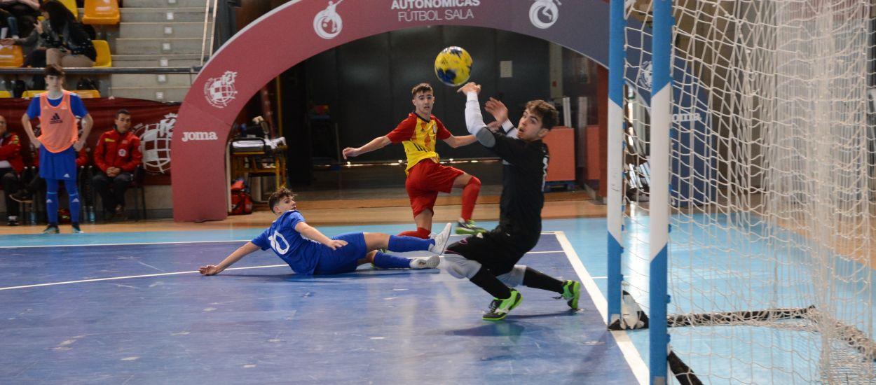 Les Illes Balears remunta i Catalunya sub 16 de futbol sala cau eliminada del Campionat d'Espanya